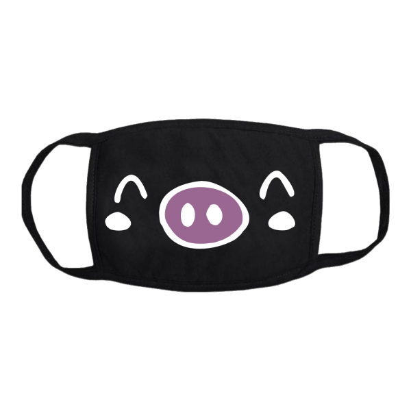 maiale pig mask