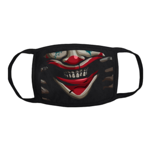 happyface joker mask