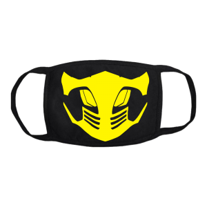 scorpion mortal combat mask